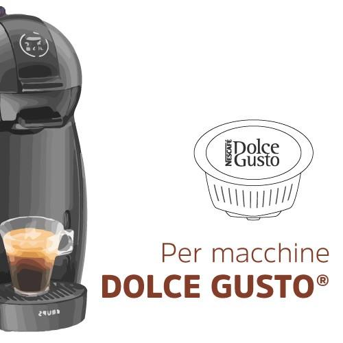 Capsules compatible with Dolce Gusto nescafé machines