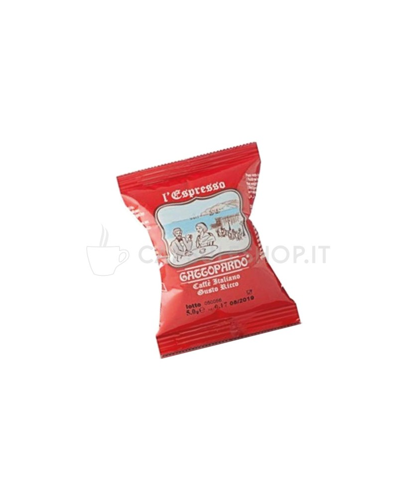 Gusto ricco caffè in capsule compatibili Nespresso di Gattopardo Toda