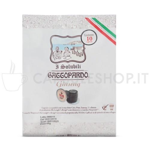orzo in capsule compatibili Nespresso di Gattopardo Toda