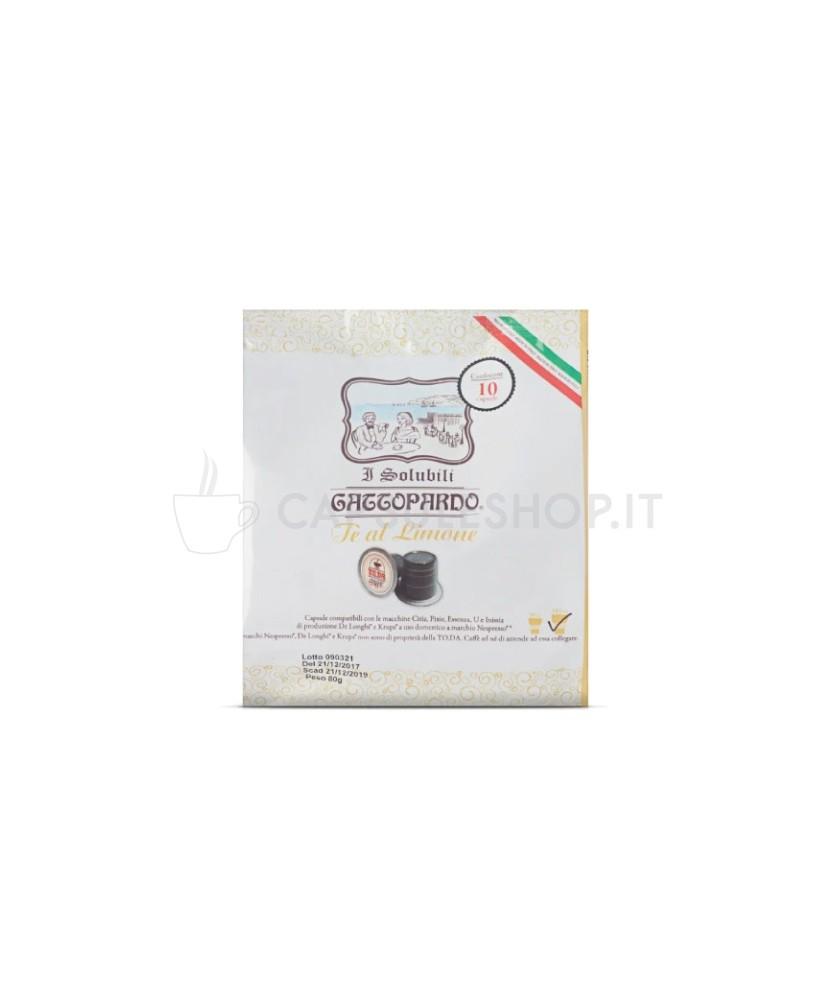 the al limone compatibili Nespresso di Gattopardo Toda