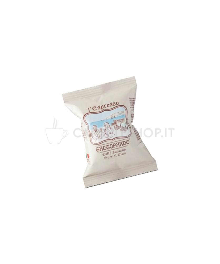 special club caffè in capsule compatibili Nespresso di Gattopardo Toda