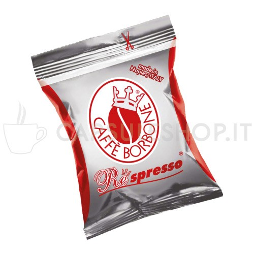 capsule compatibili respresso borbone miscela rossa