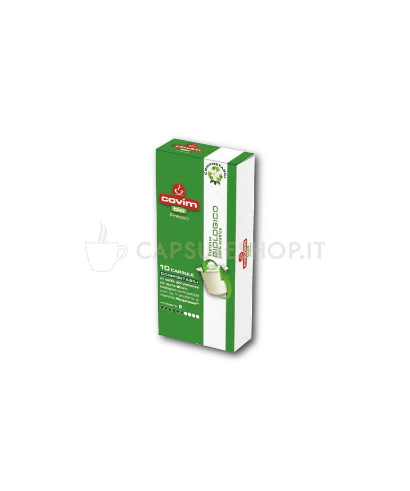 Compatibili nespresso compostabile covim biologico