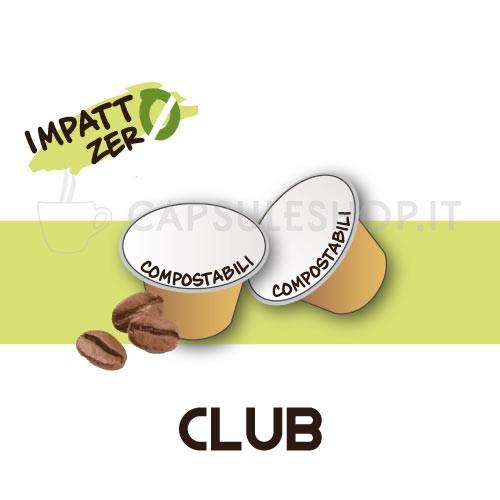 Passione 88 capsule compatibili nespresso impatto zero club