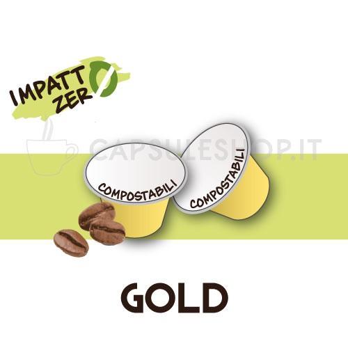 Passione 88 capsule compatibili nespresso impatto zero gold