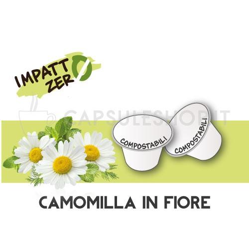 Passione 88 capsule compatibili nespresso impatto zero camomilla