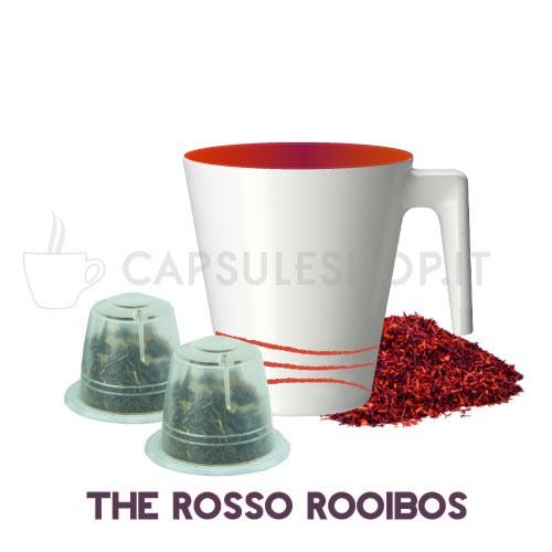 Passione 88 capsule compatibili nespresso the rosso rooibos