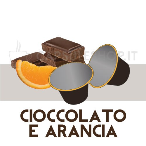 Passione 88 capsule compatibili nespresso cioccolato arancia