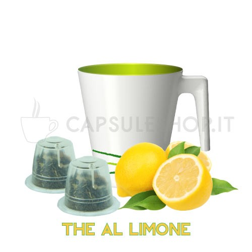 Soluble lemon tea