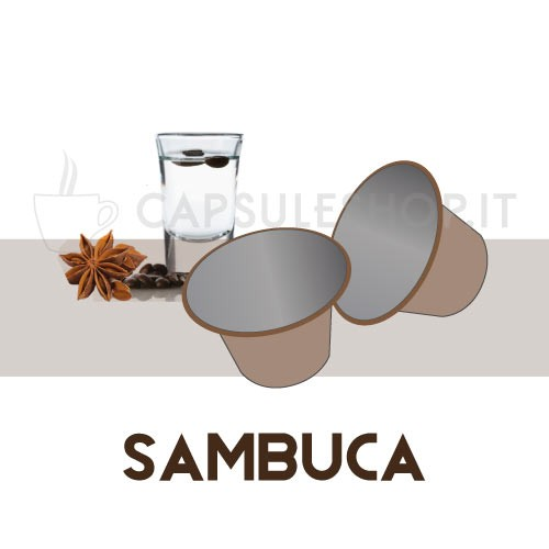 Sambuca flavoured coffee