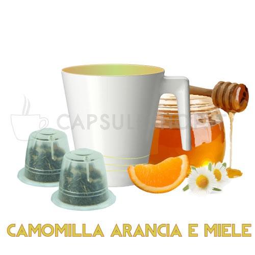 Sinaasappel kamillethee
