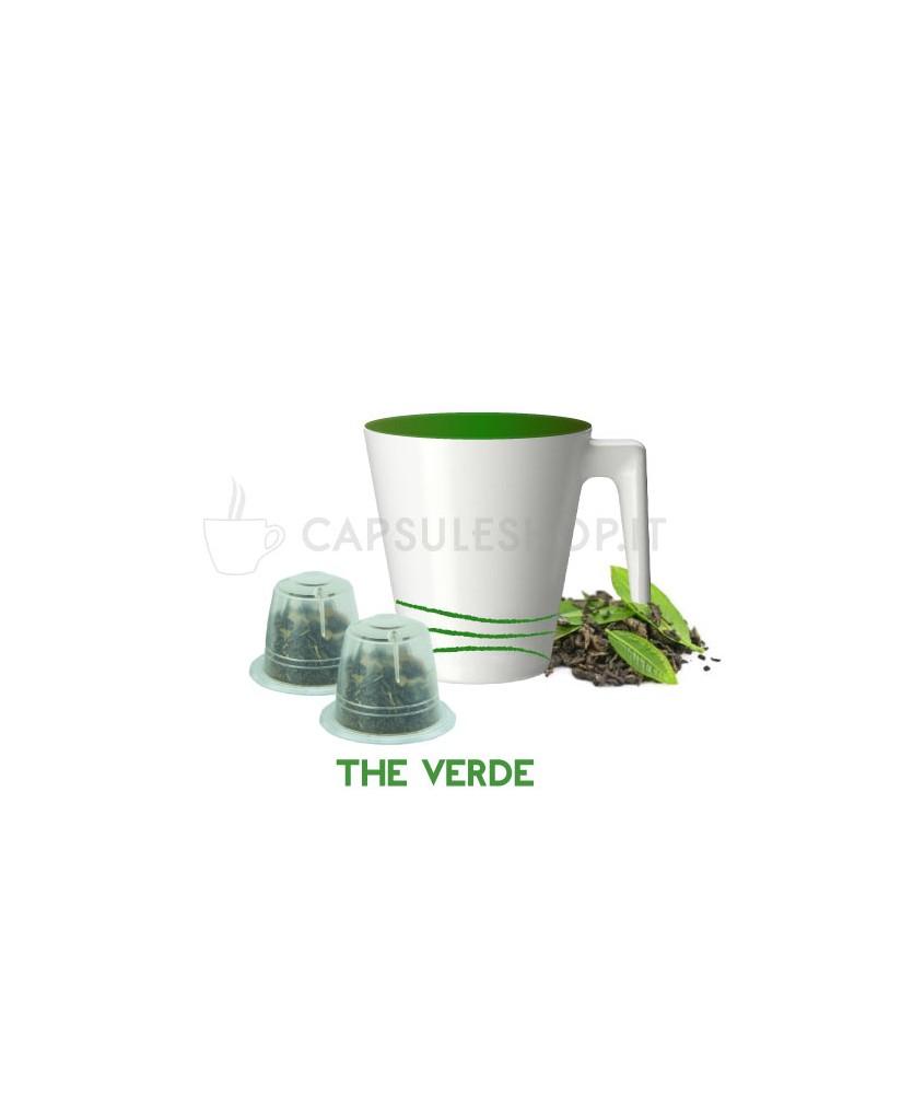 capsule compatibili nespresso passione 88 the verde in foglie