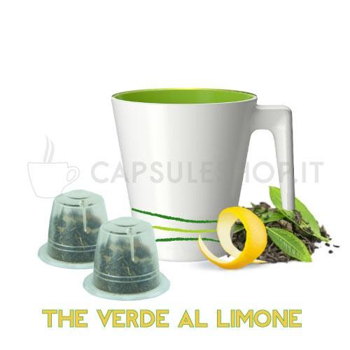 capsule compatibili nespresso passione 88 the verde al limone