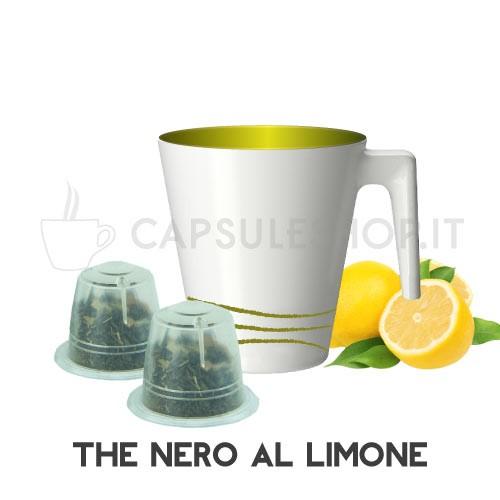 Zwarte citroen thee