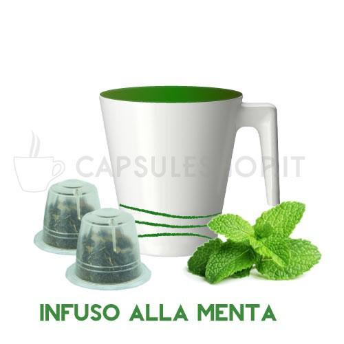 capsule compatibili nespresso passione 88 infuso alla menta
