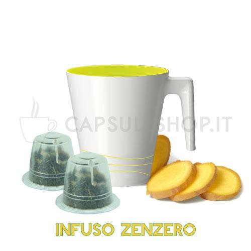 capsule compatibili nespresso passione 88 infuso allo zenzero
