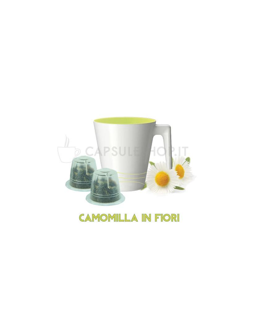 capsule compatibili nespresso passione 88 camomilla in fiori