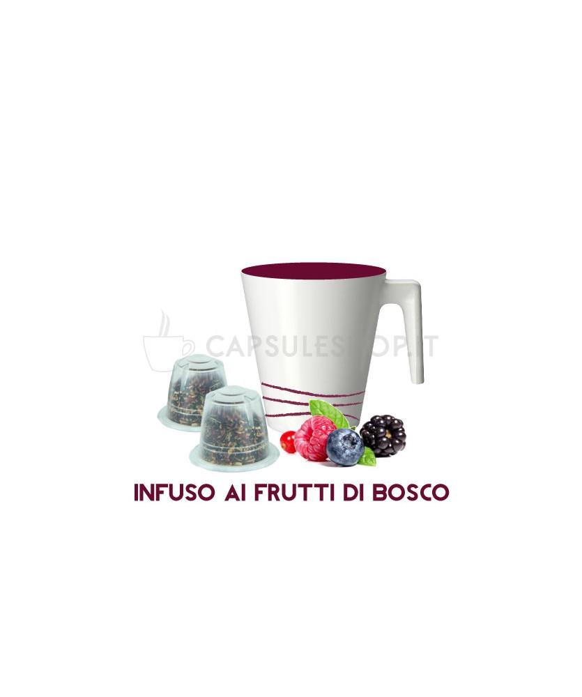 capsule compatibili nespresso passione 88 infuso ai frutti di bosco