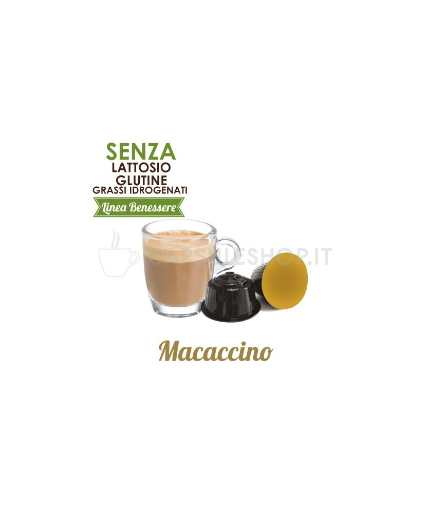 capsule compatibili dolce gusto foodness linea benessere macaccino