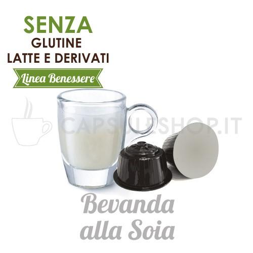capsule compatibili dolce gusto foodness linea benessere bevanda alla soia