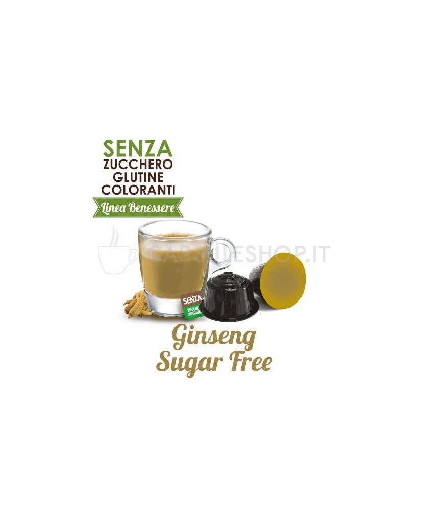 capsule compatibili dolce gusto foodness linea benessere ginseng sugar free