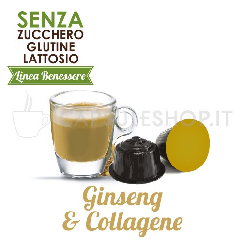 capsules compatible with dolce gusto ginseng and collagen