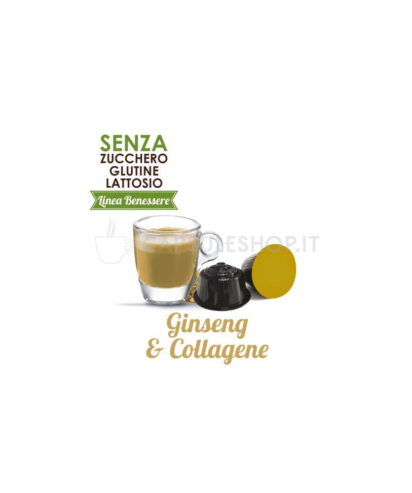 capsule compatibili dolce gusto foodness linea benessere ginseng e collagene