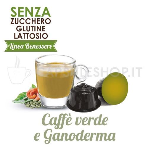 Capsules compatibles Dolce Gusto. café vert et ganoderma