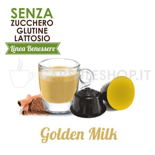 capsule compatibili dolce gusto foodness linea benessere golden milk