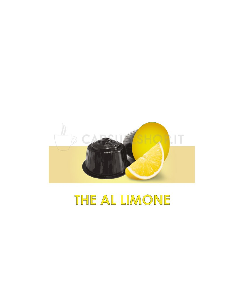 capsule compatibili dolce gusto passione 88 the al limone solubile