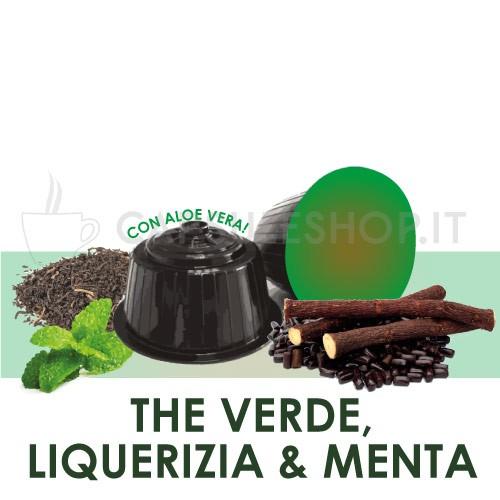 Capsules compatibles Dolce Gusto. thé vert, réglisse et menthe