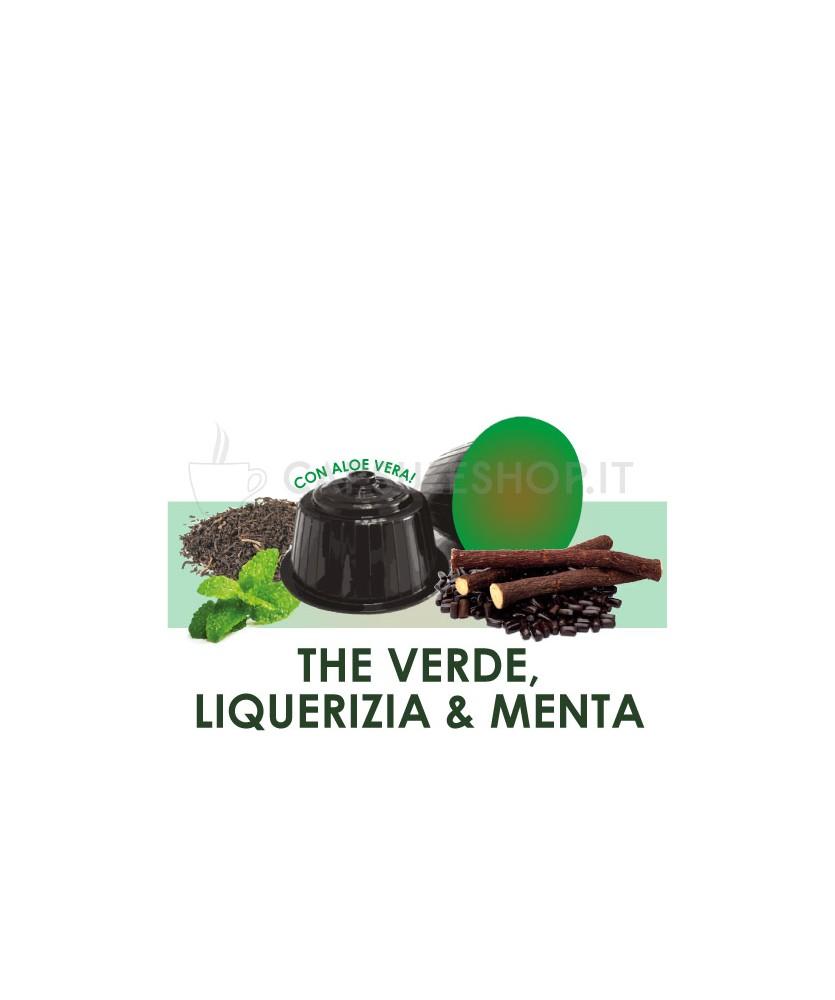 capsule compatibili dolce gusto passione 88 the verde liquirizia menta