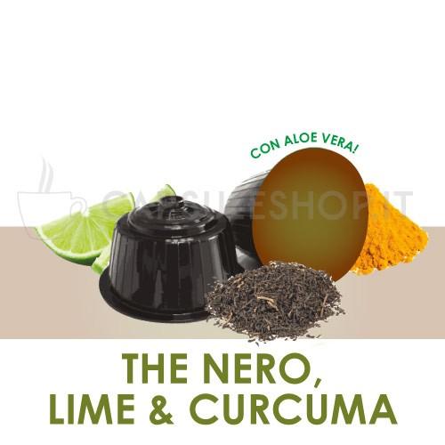Dolce Gusto-compatibele capsules. limoen zwarte thee en kurkuma
