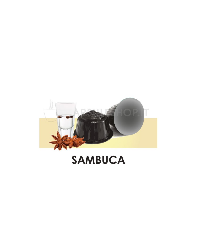 Capsules compatibles Dolce Gusto. Café Sambuca