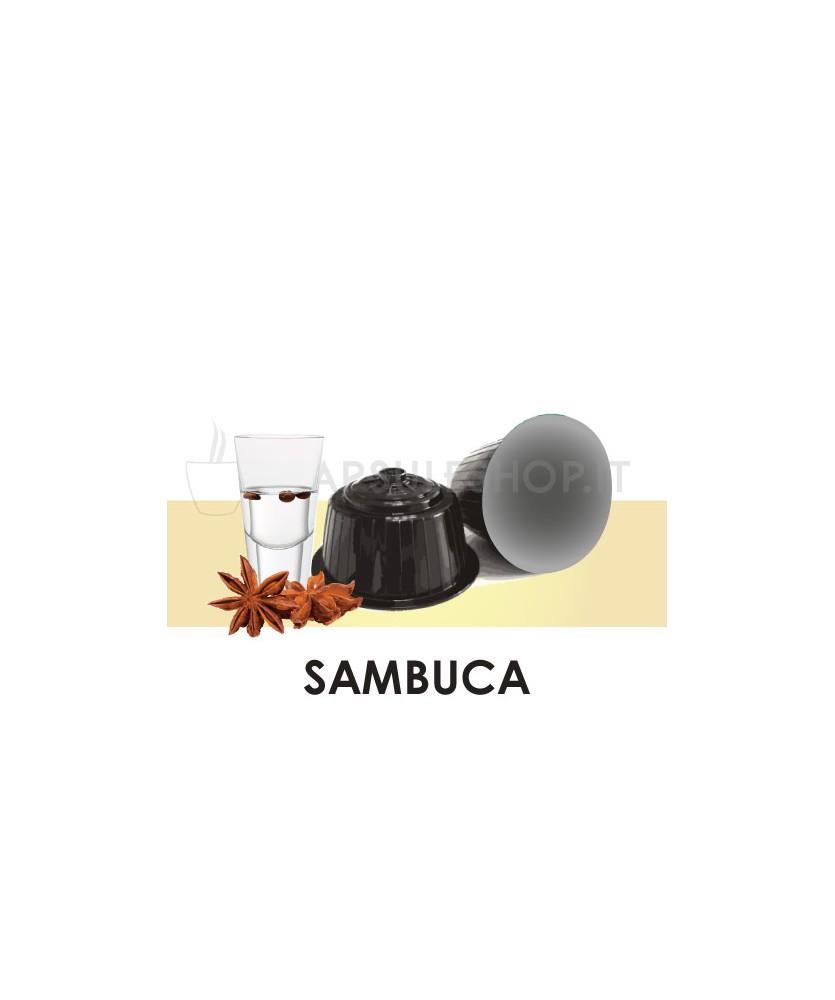 Dolce Gusto compatible capsules. Sambuca coffee