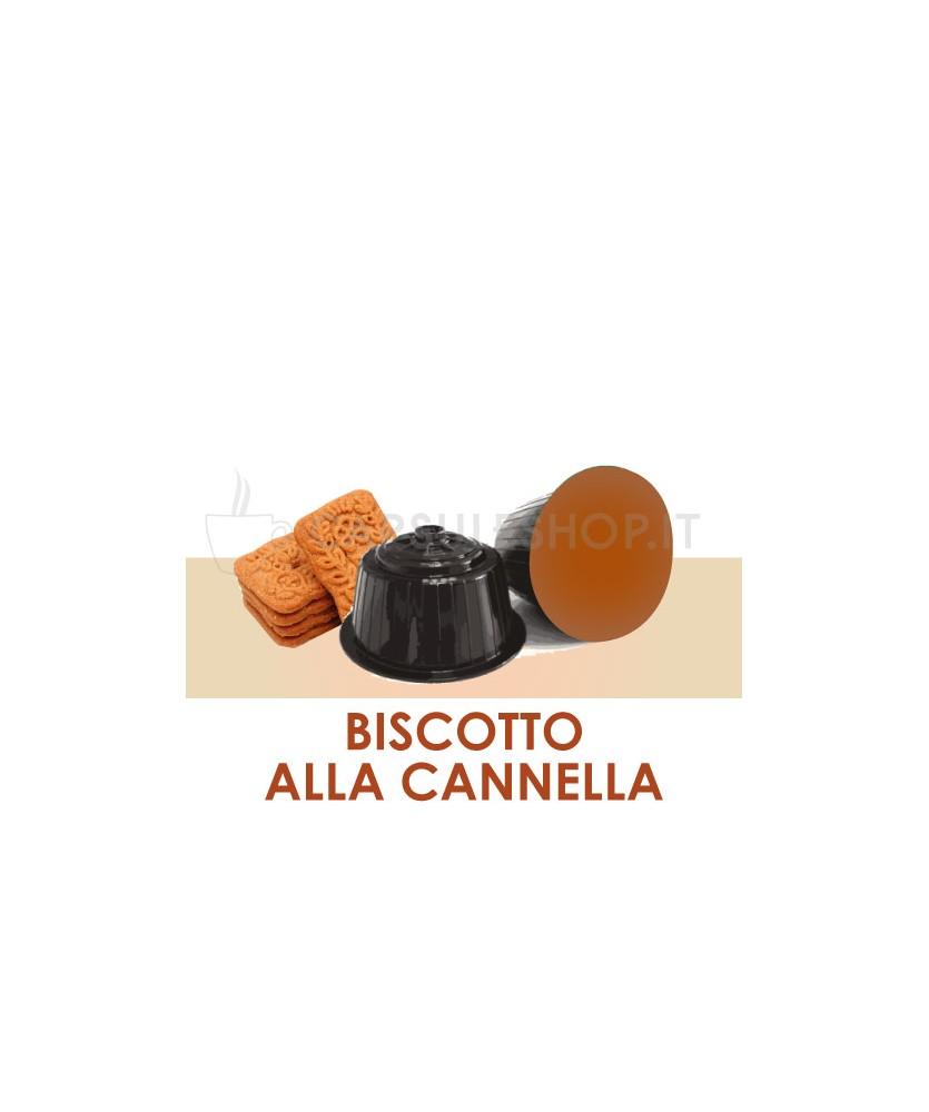 Capsules compatibles Dolce Gusto. biscuit à la cannelle