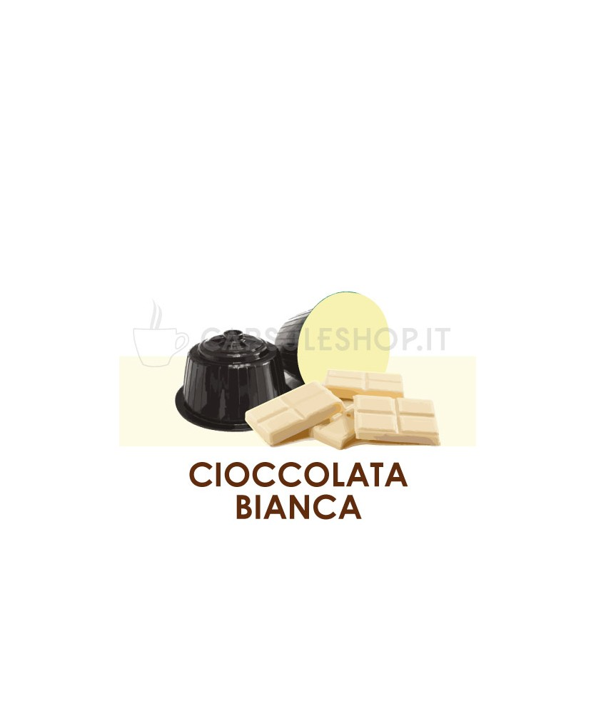 Dolce Gusto white chocolate capsules