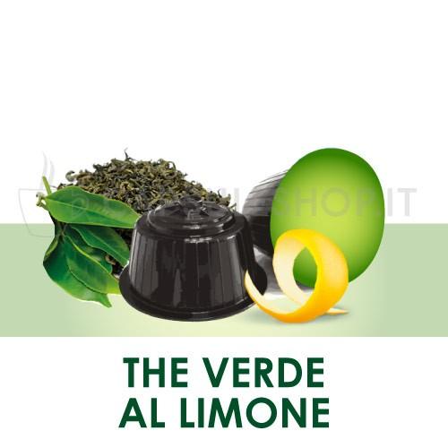Dolce Gusto-compatibele capsules. groene thee met citroen