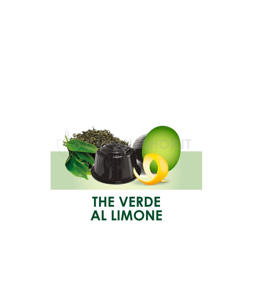 Capsules compatibles Dolce Gusto. thé vert au citron