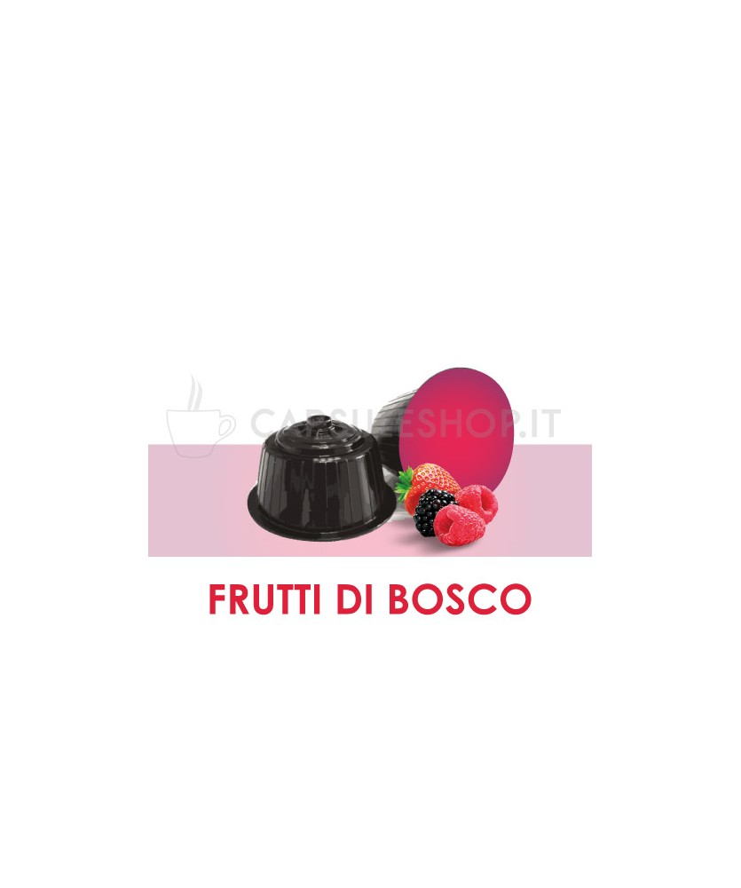 Dolce Gusto compatible capsules. Wildberry infusion