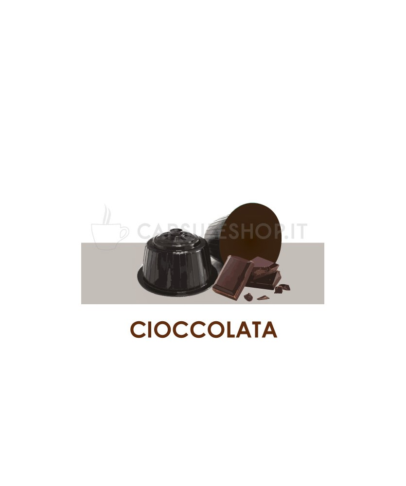 Capsules compatibles chocolat Dolce Gusto