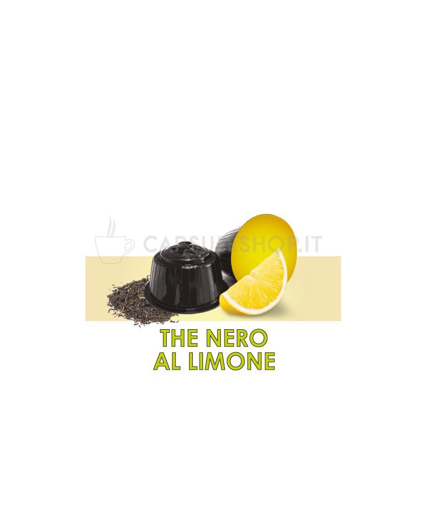 Dolce Gusto compatible capsules. black lemon tea