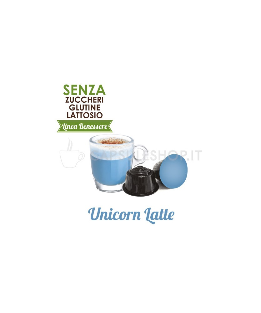 capsule compatibili dolce gusto passione 88 linea benessere unicorn latte