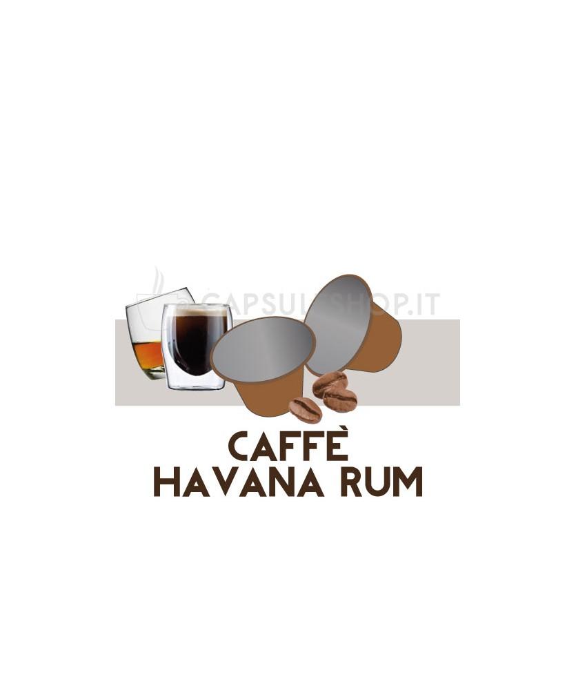 capsule compatibili nespresso caffe aromatizzato havana rum