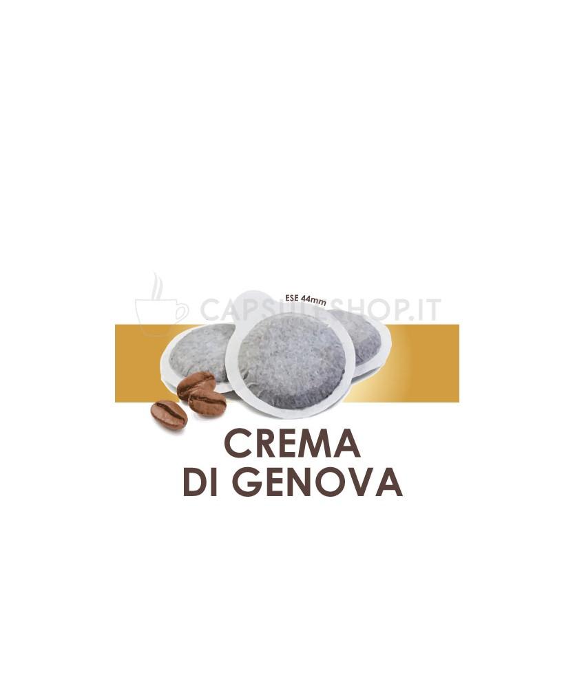 Crema di Genova Passione 88 Capsule compatibili con macchine a cialde ese 44mm