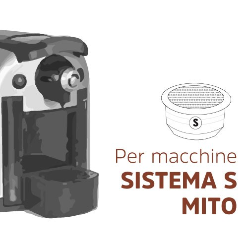 Capsule compatibili con macchine sistema S Mito