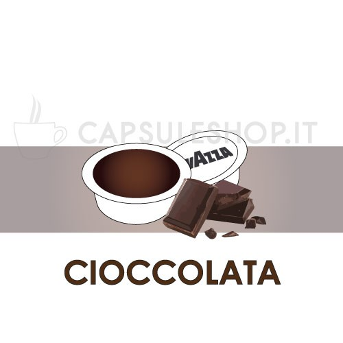 Lavazza A Modo Mio chocolate compatible capsules