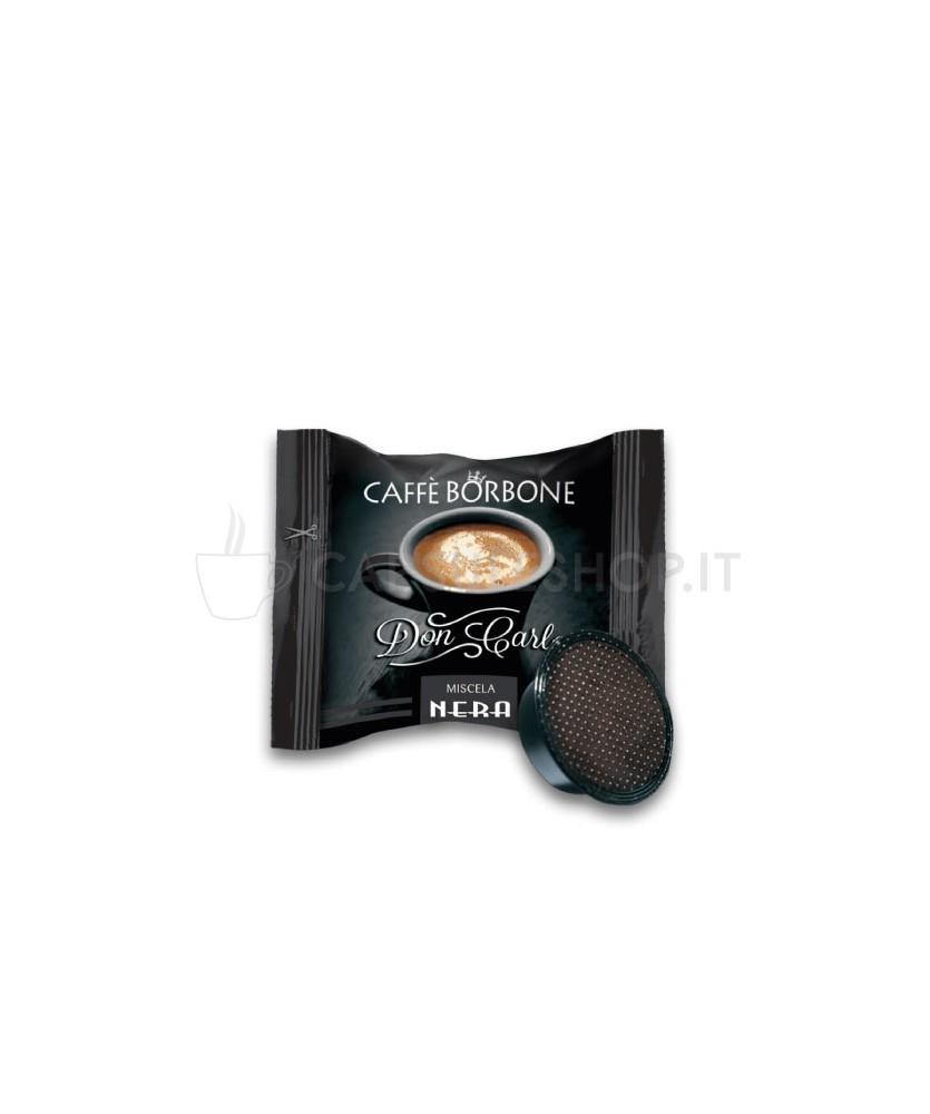 capsule compatibili lavazza a modo mio don carlo borbone nera