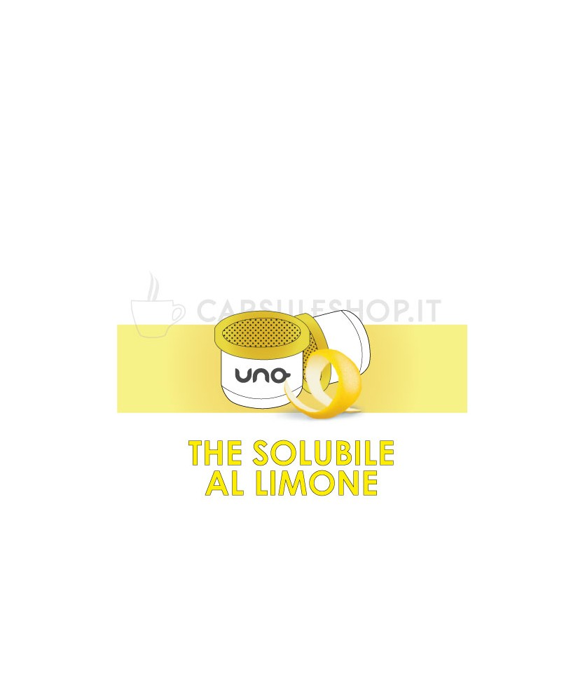 Capsule compatibili con macchine uno capsule system the al limone
