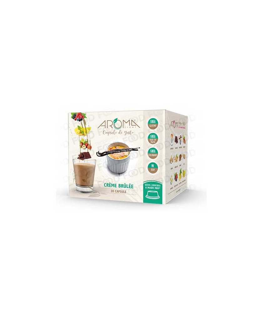 creme brulee capsules for A Modo Mio